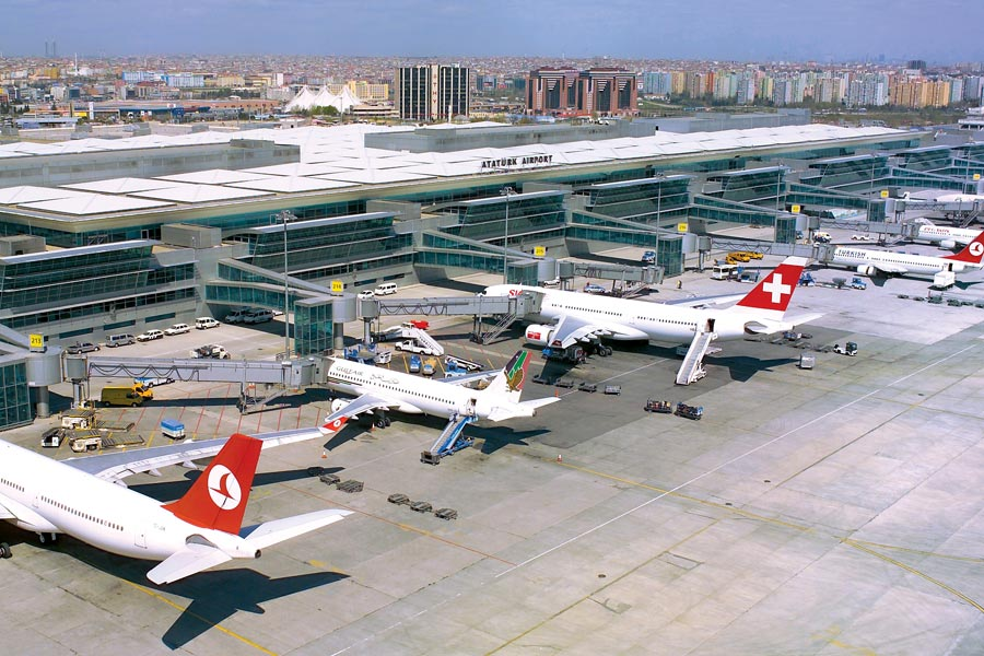 Стамбул Ататюрк аэропорт такси