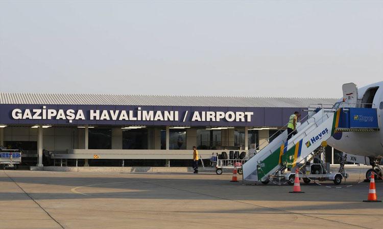 Газипаша аэропорт такси